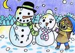 Snowmen by TaintedTruffle