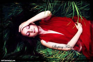 sleeping fairy by cho9