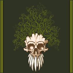 Vine Skull by odarbo