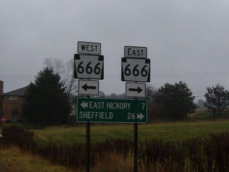 PA State Route 666 by Gtwy