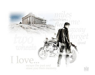 two wheels by Lid-graphic
