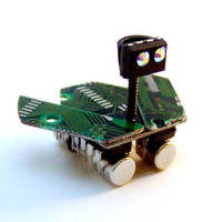 Teensy Tiny Circuit Board Mars Rover by Techcycle