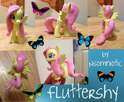 Fluttershy - MLP Custom by Nsomniotic