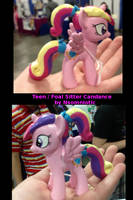 Foal Sitter Cadance by Nsomniotic