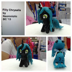 Filly Chrysalis by Nsomniotic