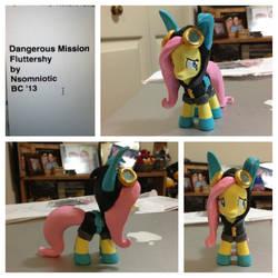 Dangerous Mission Fluttershy by Nsomniotic