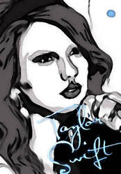 Taylor Swift by xxDizzyBlondexx