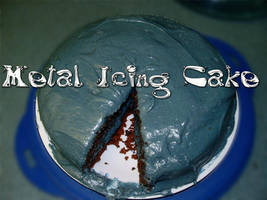 metal icing Cake by FishMuffin1