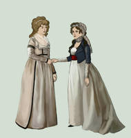 1795 day dresses by Tadarida