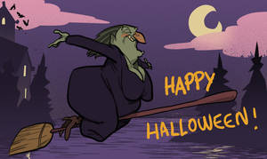halloween card. by mendigo-amigo