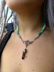 Turquoise Lock by Acorny-Creatures