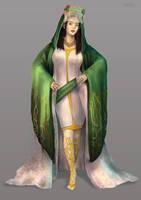 Elf Lady by pbmoj