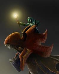 Dragon Priest by liliwen