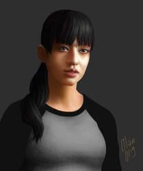 Chiaki by oleolah