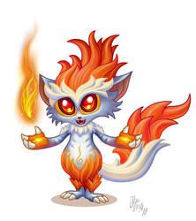 Fiery Fox by oleolah