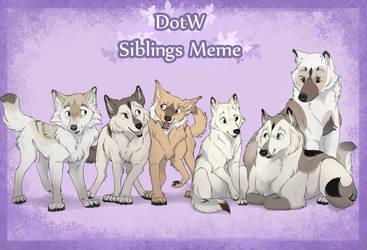 DotW   Eir   Siblings Meme by FrostedCanid