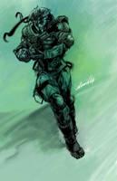 METAL GEAR: sketch by dwinbotp