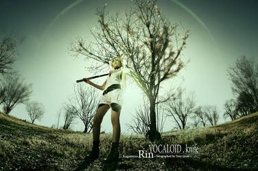 Volcaloid : Knife : Kagamine Rin by qcamera