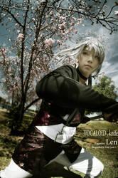 Kagamine Len by qcamera