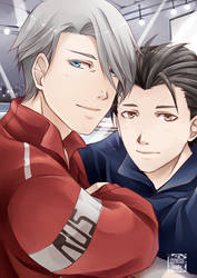 Yuri on Ice - By the Rink (Full) by Kei-Seki