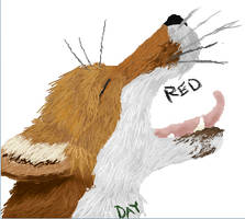 Red the Red Fox by Green-Day28
