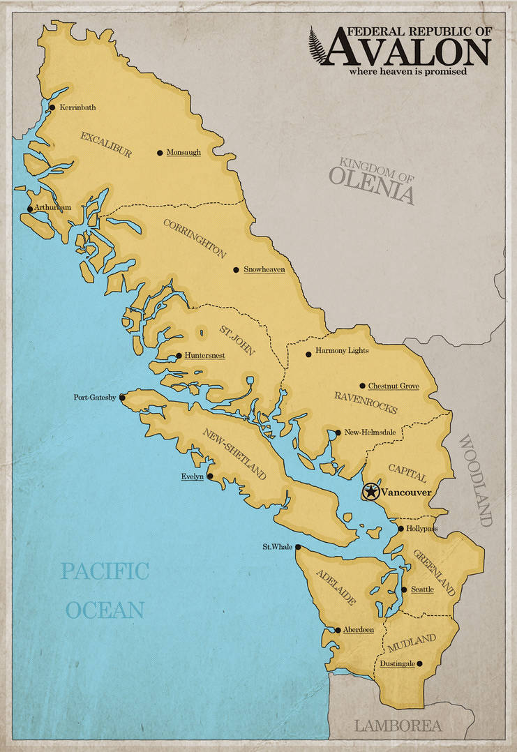 Federal Republic of Avalon by ImDeadPanda