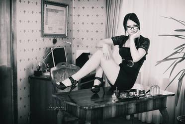 sexy secretary 05 by Boas73