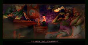 Indigo Widescreen by brushmarks