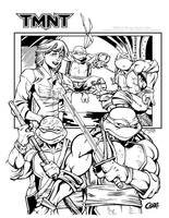 TMNT Inked by Cadre