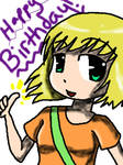 Happy Birthday FMAFREAK8 by badgerflight