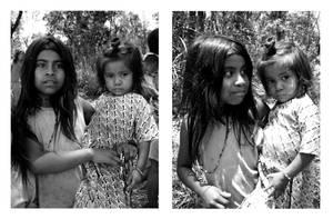 Guarani sisters by elultimodeseo