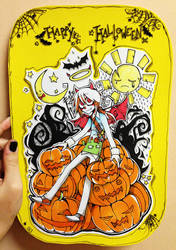 Halloween card by zukich
