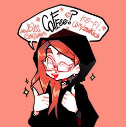 KO-FI? COFFEEEEEEEEEEEEEEEE!!!! by zukich