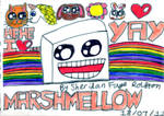 Marshmallow YAY! :D by badberry123