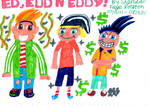 Ed, Edd N Eddy by badberry123