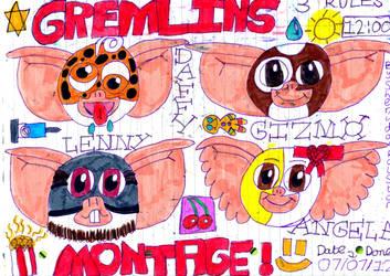 Gremlins Montage! :D by badberry123