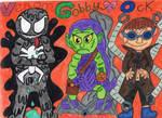 The Spidey Movie Trio. by badberry123