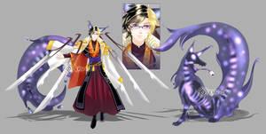 terrorwolf A O I  AUCTION CLOSED  by Kru-Lei