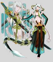 Lightning Dragon  AUCTION CLOSED by Kru-Lei