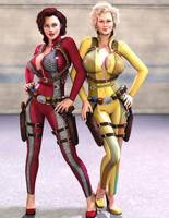 Spy Girls by Redrobot3D