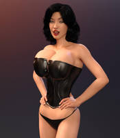 The Corset 2 by Redrobot3D