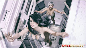 Interstellar Travelers by Redrobot3D