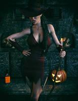 A Cara Lox Halloween by Redrobot3D