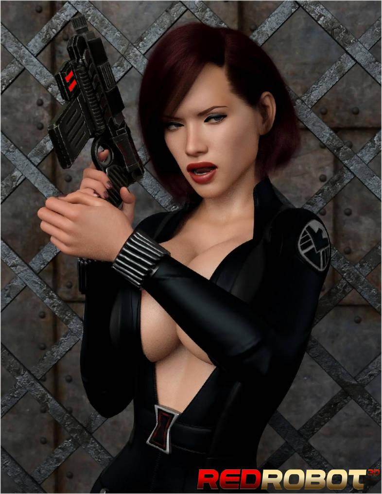 The Black Widow 2 by Redrobot3D