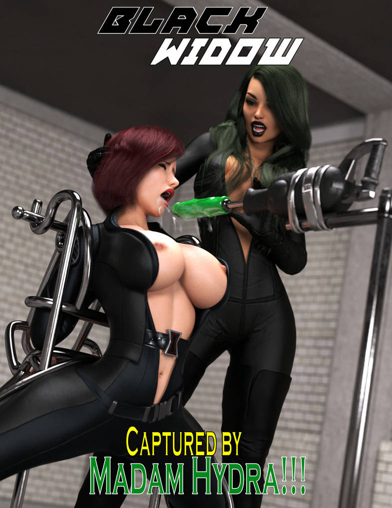 Captured by Madam Hydra! by Redrobot3D