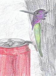 [MAX] Cola Bird by beccastareyes