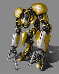 Robo excavator by MarcinTurecki