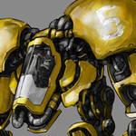 Robo excavator miniature by MarcinTurecki