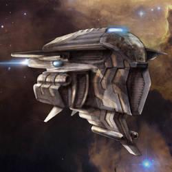Spaceship by MarcinTurecki