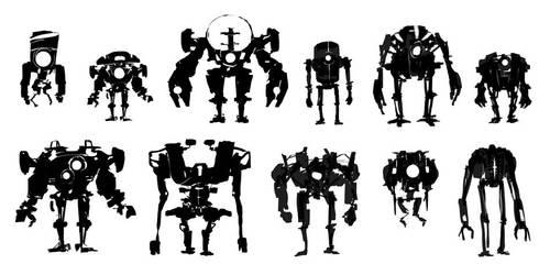 Robo shape 01 by MarcinTurecki